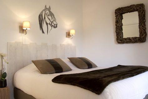 Chambres grand confort dans les appartements du Mas des Rièges
